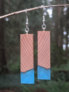 Wood & Resin Earrings #7809 - Contour Creative