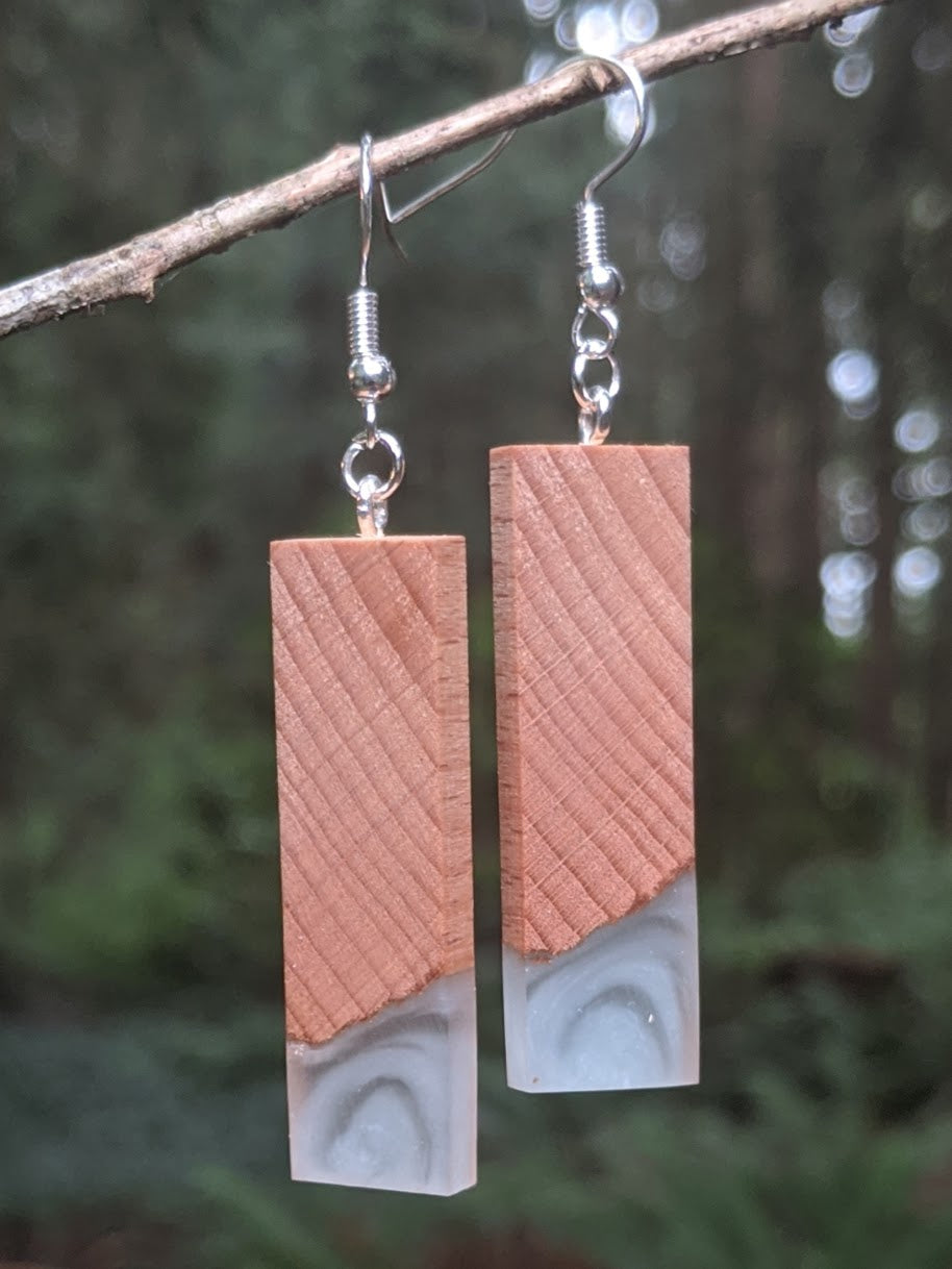 Wood & Resin Earrings #7810 - Contour Creative