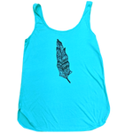 Feather Ladies Relax Tank - Contour Creative