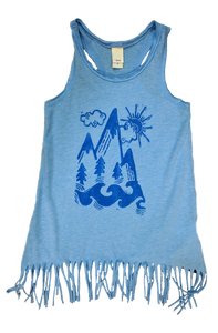 Mountain Girl Fringe Dress - Contour Creative