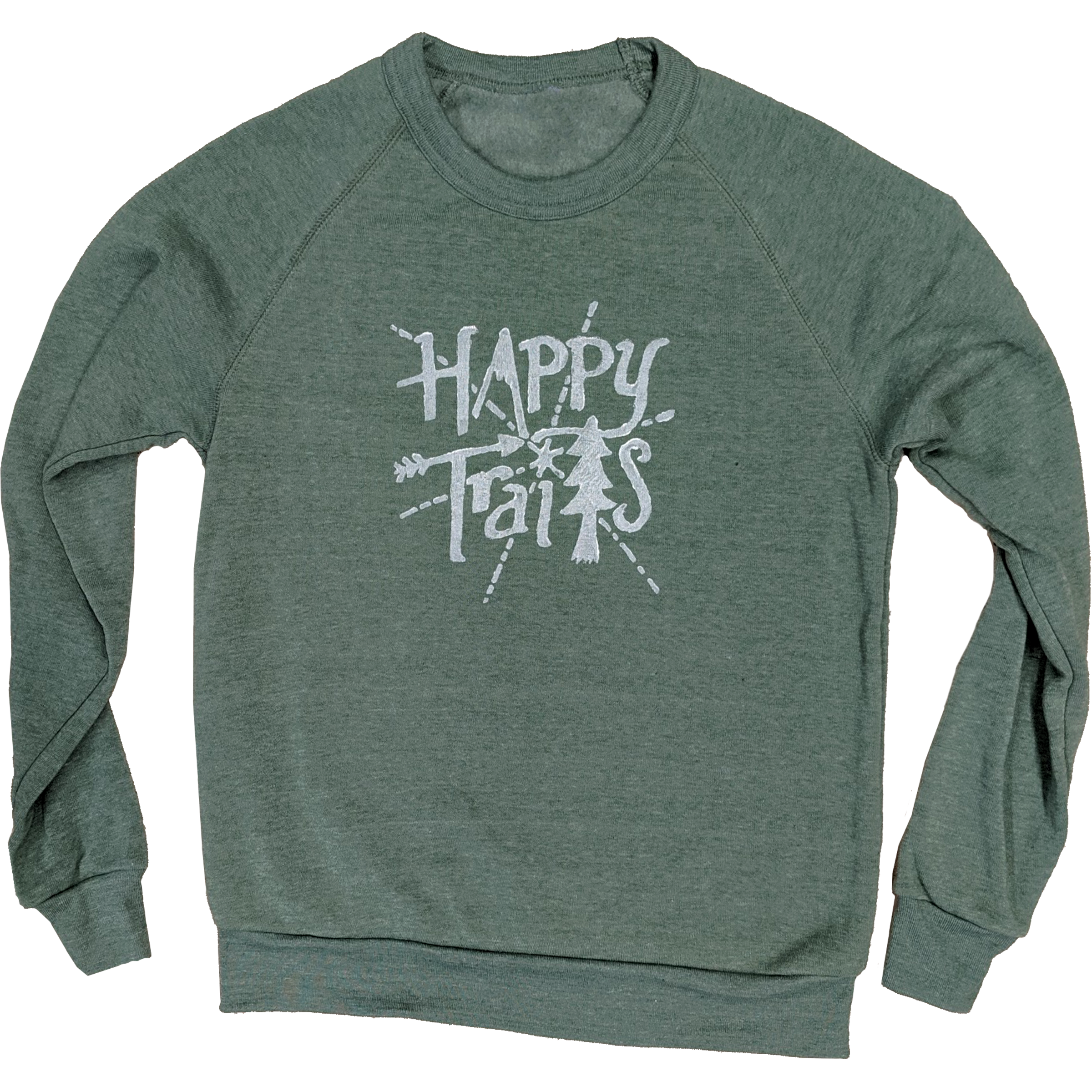 Happy Trails Unisex Crewneck