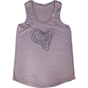 Heart Ladies Perfect Racer - Contour Creative