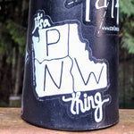 PNW Thing Sticker - Contour Creative