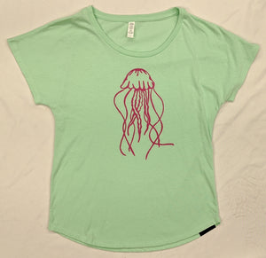 Jellyfish Ladies Loose Tee - Contour Creative