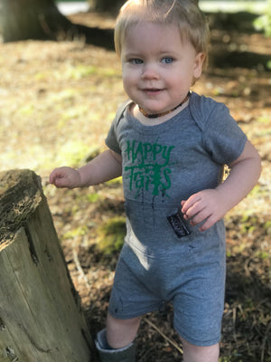 Happy Trails Baby Romper - Contour Creative
