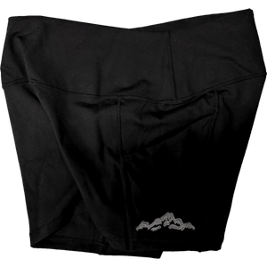 Little Mountain Yoga Shorts - Contour Creative
