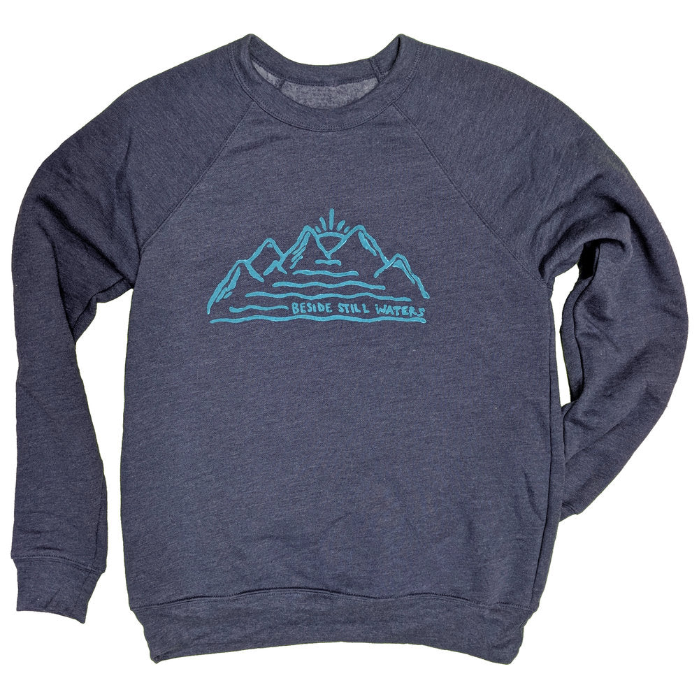 Still Waters Unisex Crewneck Sweatshirt - Contour Creative