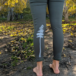 Tree Athletic Leggings - Contour Creative