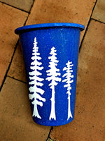 Tall Tall Trees Speckled Enamel Tumbler - Contour Creative