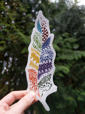Feather Sticker - Contour Creative