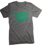 Home Sweet Home Unisex Tee Dark Grey - Contour Creative