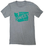 Home Sweet Home Unisex Tee Light Grey - Contour Creative