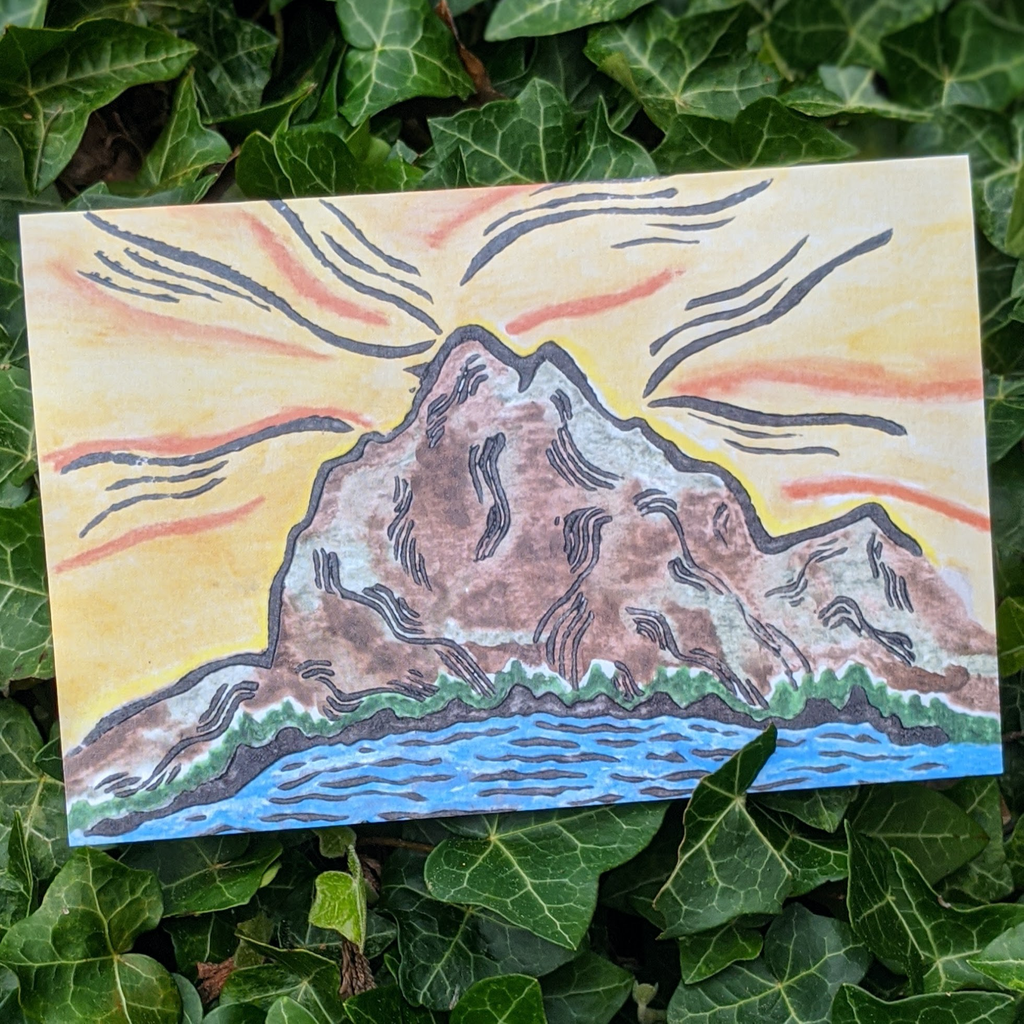 Mt. Baring Card - Contour Creative