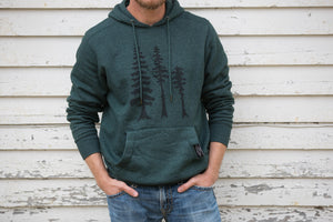 Tall Tall Trees Unisex Hoodie - Contour Creative