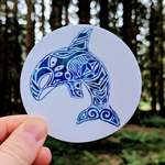 Orca Sticker - Contour Creative