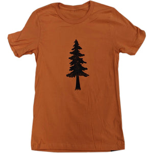 Single Tree Unisex Tee - Contour Creative