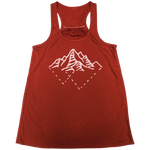Tri Mountains Ladies Loose Racer Tank - Contour Creative