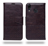 Ceego Luxuria Compact Wallet Flip Cover for Asus Zenfone 5Z (Chestnut Brown)