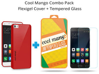 FlexiGel Back Cover for Xiaomi Mi5 - Slim Fit, Flexible & Glossy – (Lava Red)
