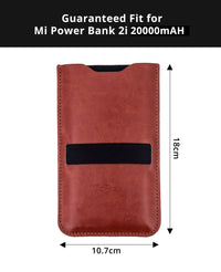 GoFree Cover Sleeve for Xiaomi Mi 20000mAh 2i Power Bank