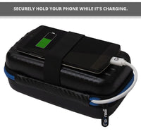 GoFree Carry Case for Power Bank, Charger, Cables & Small Accessories (Regular)