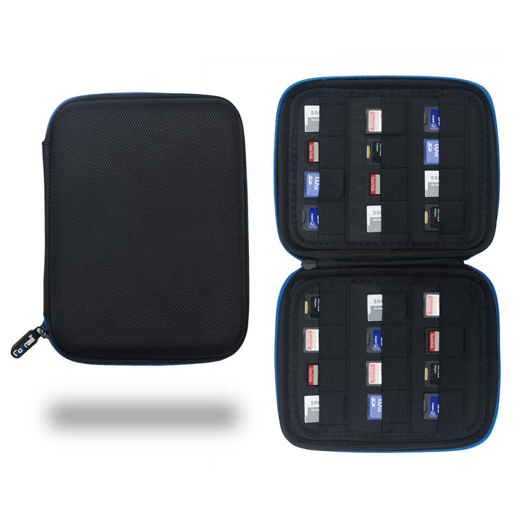 GoFree SD Card Case & Organizer – 24 SD Card Capacity