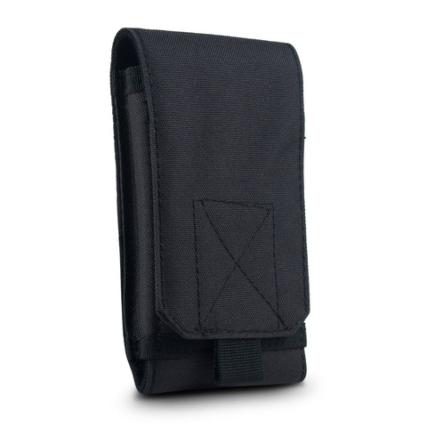 Tactical Phone Pouch Sleeve Case – GoFree Tactical Case [ With Belt Loop ] – Up to 6.2 inch Phone (Army Black)