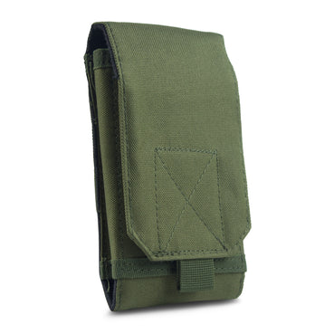 Tactical Phone Pouch Sleeve Case – GoFree Tactical Case [ With Belt Loop ] – Up to 6.2 inch Phone (Army Green)