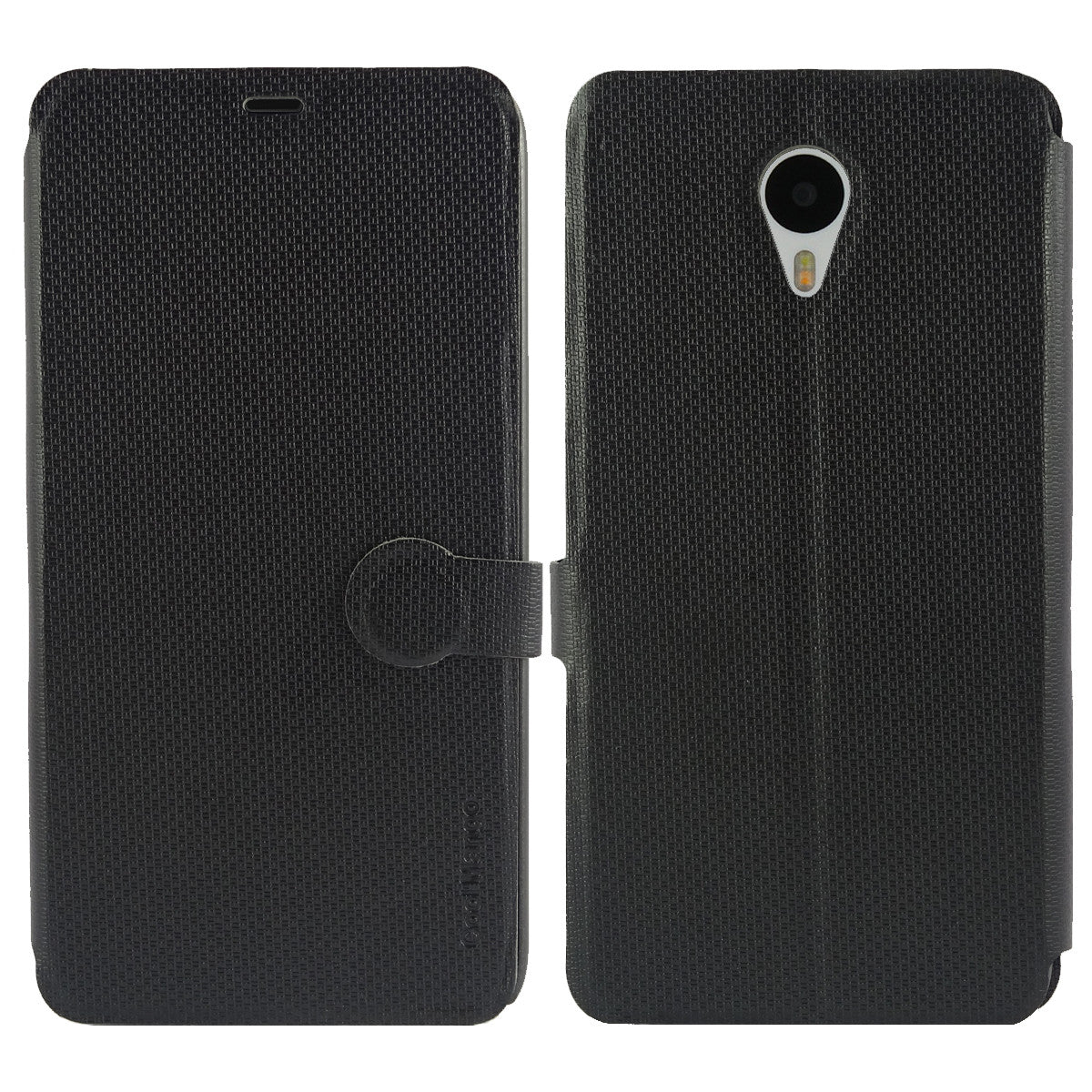 iMaterial Flip Cover for Meizu m1 note - Royal Black