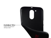 Flexible & Low Profile Printed TPU Back Cover for Moto G4 Plus & Moto G4 – Harder, Better, Faster, Stronger: Motivational Quote