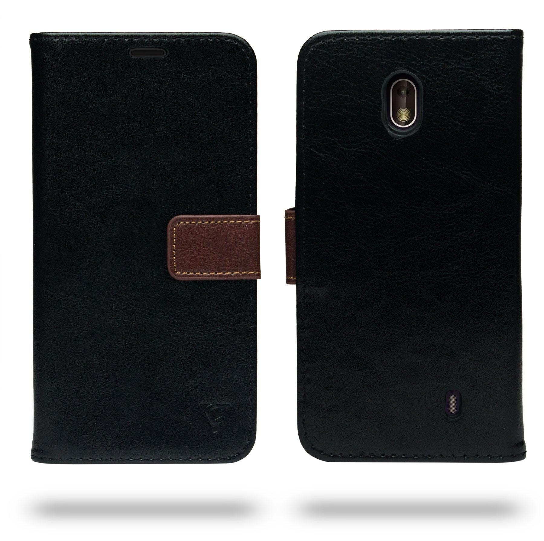 Ceego Flip Cover for Nokia 1  (Black)