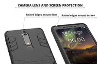 Ceego Stealth Defence Back Case for Nokia 6.1  – Matte Black
