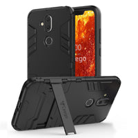 Ceego Stealth Defence Back Case for Nokia 8.1  – Matte Black