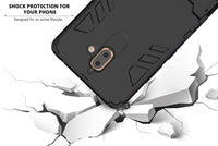 Ceego Stealth Defence Back Case for Nokia 7 Plus – Matte Black