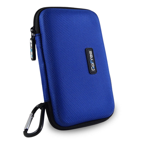 GoFree Hard Disk Carrying Case - Azure Blue