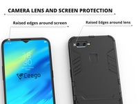 Ceego Stealth Defence Back Case for Realme 2 Pro – Matte Black