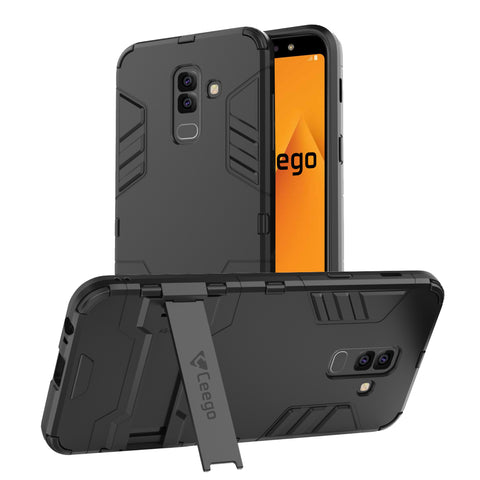 Ceego Stealth Defence Back Case for Samsung Galaxy A6 Plus  – Matte Black
