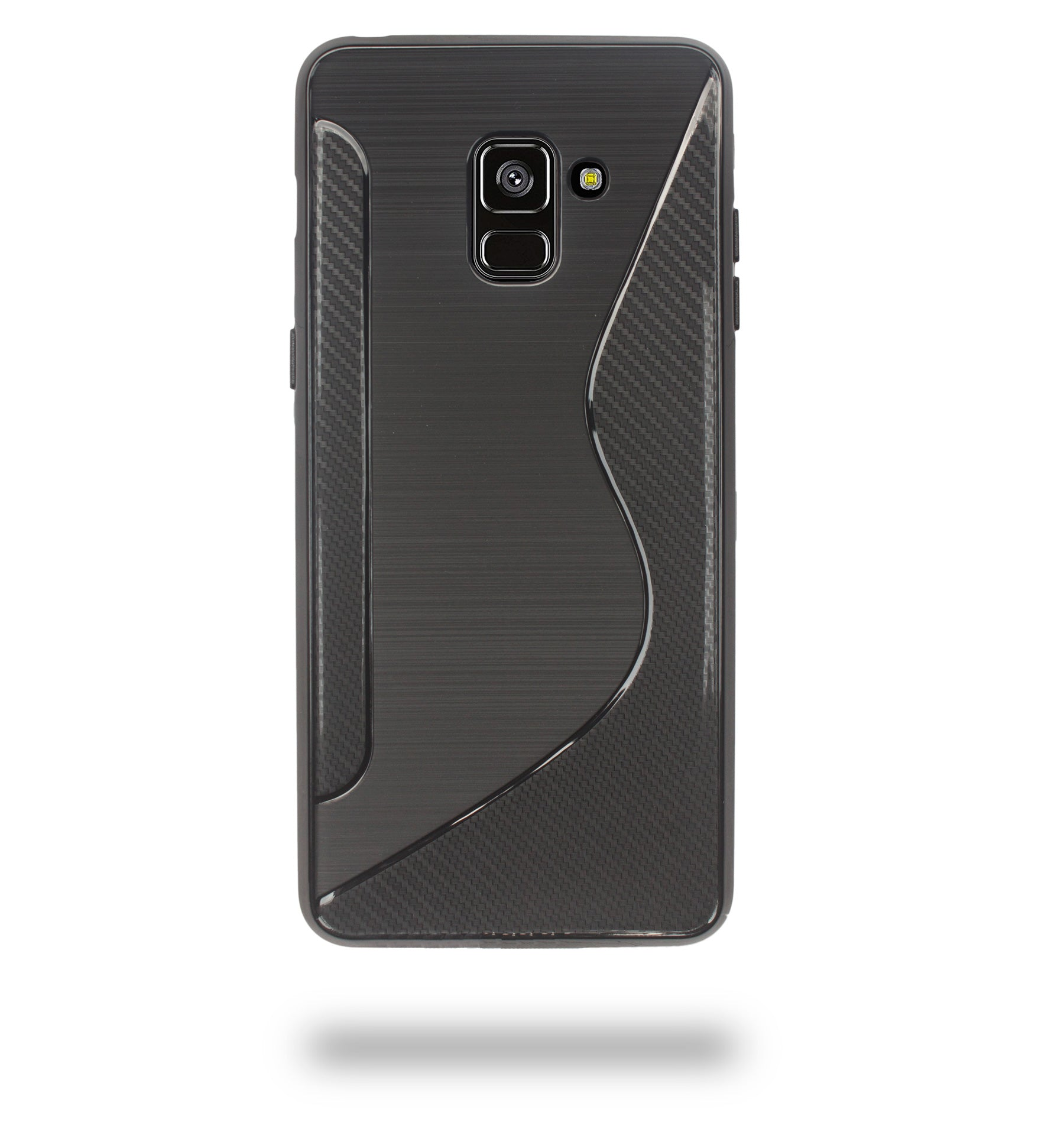 Ceego Carbon Fiber TPU Back Cover for Samsung Galaxy A8 Plus (2018)