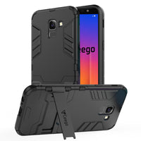 Ceego Stealth Defence Back Case for Samsung Galaxy J6 2018  – Matte Black
