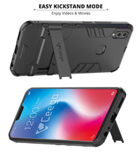 Ceego Stealth Defence Back Case for Vivo V9 / Vivo V9 Youth  – Matte Black