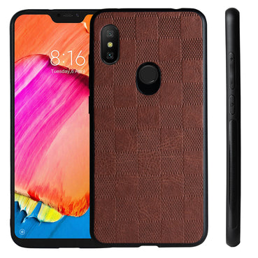 Ceego Elita Ultra Slim Back Case for Redmi Note 6 Pro (Walnut Brown)