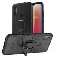 Ceego Stealth Defence Back Case for Xiaomi Redmi Note 6 Pro – Matte Black