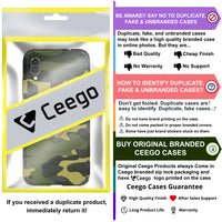 Ceego Stealth Defence Back Case for Xiaomi Redmi Note 7 /  Redmi note 7 Pro / Redmi Note 7s  – Camouflage Green