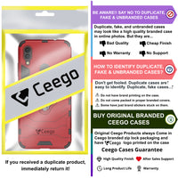 Ceego Stealth Defence Back Case for Xiaomi Redmi Note 7 / Redmi Note 7 Pro / Redmi Note 7s  – Matte Red