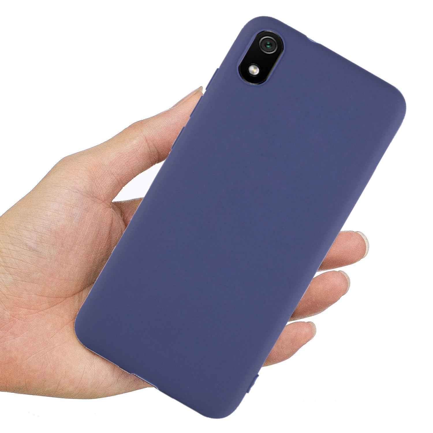 Ceego Back Cover for Xiaomi Redmi 7A - Thin Flexible Redmi 7A Case (Berry Blue)