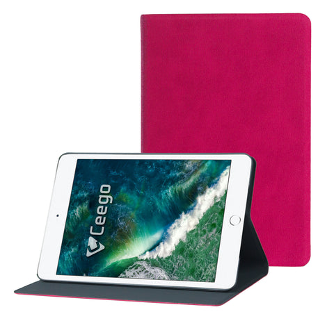Ceego Rico Series Flip Cover for Apple iPad Mini 1 / Mini 2 / Mini 3 Tablet (Happy Pink)