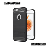 Ceego Carbon Fiber Shield Back Case for Apple iPhone 6 / 6s  – Matte Black
