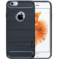 Ceego Carbon Fiber Shield Back Case for Apple iPhone 6 / 6s  – Midnight Blue