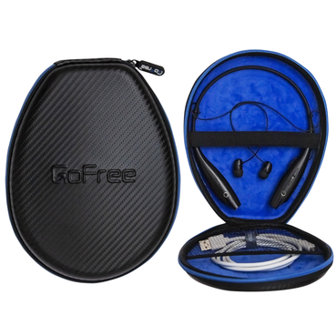 GoFree Headphone Case For Collar / Neck Band / Behind The Neck / Necklace Headphones