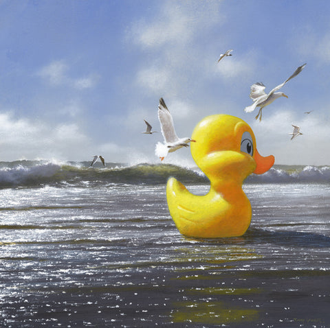 'A Duck to Water' © - Normally 120.00 euro